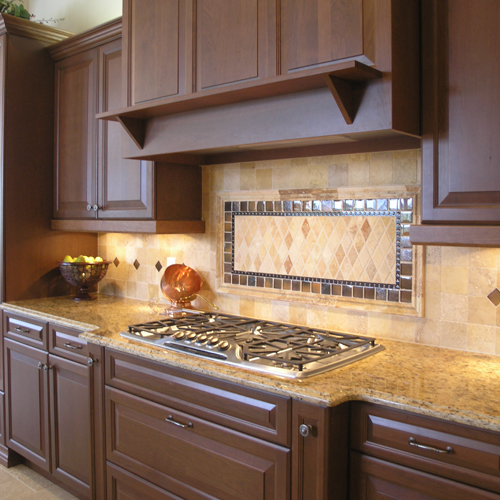 kitchen backsplash for a southwestern look glass tile backsplashes