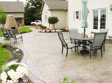 Modern Slate Patio Design. Slate Patio Design Ideas