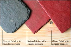 Different Slate Edges