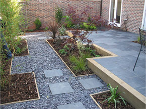 Maintenance Free Garden Ideas maintenance free front yards google search Garden Landscaping With Slate Chippings