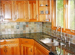 Kitchen Slate Backsplash Ideas