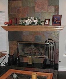 Slate Fireplace Photos