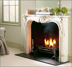 Black Slate Hearth