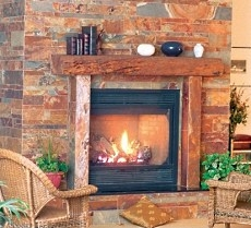 fireplace slate. Slate Stone Fireplace Fireplaces