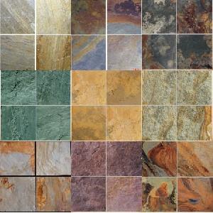 Slate Tiles Flooring Wall