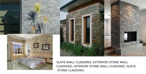 Slate Stone Wall Cladding