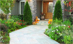 Slate Stone Walkways