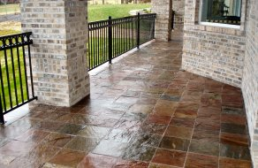 If You Are Looking Tiled Patio   Bellville Tile