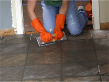 Slate Flooring Installation