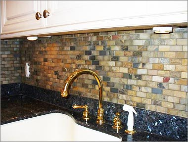 terrific slate tile backsplash pictures kithen backsplash